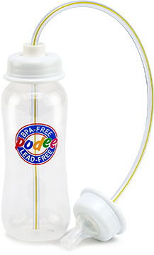 Bpa Free Hands Free Baby Bottle For Parents Podee